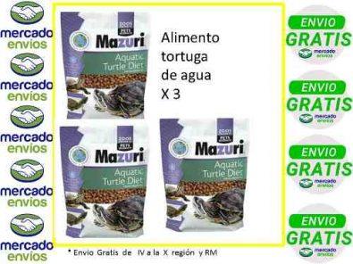 mazuri-tortuga-de-agua-x-3-envio-gratis-erickerizo-24-990